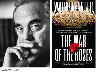 Warren Adler and War of the Roses book cover