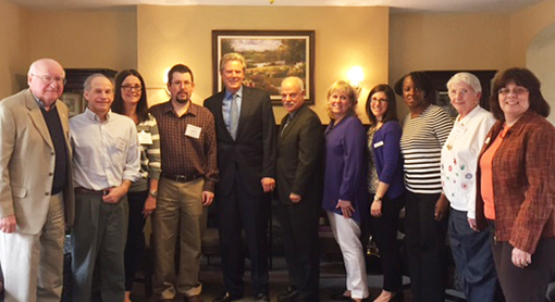 Caregivers and Congressman Pallone